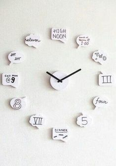 diy crafts for teen girls bedroom. DIY Cute clock for teen girl room diy crafts for teen girls bedroom. DIY Cute clock for teen girl room Cute Clock, Diy Clock, Clock Ideas, My New Room, My Room, Diy Crafts For Teens, Craft Ideas For Teen Girls, Diy Crafts For Home, Cute Diys For Teens