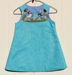 Chickadee  A Line Dress Size 4T