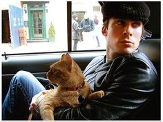 Ian Somerholder has 3 cats from different parts of North America- Hawaii, NYC, and Canada!