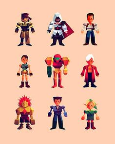 Twitter / ollymoss: Here's the last of these FFVII ...