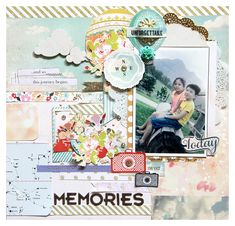 Memories - Websters Pages - Our Travels Collection