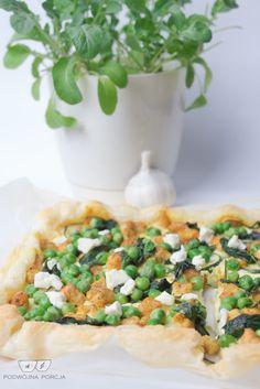 Tarta z ciasta francuskiego na zielono | PODWÓJNA PORCJA