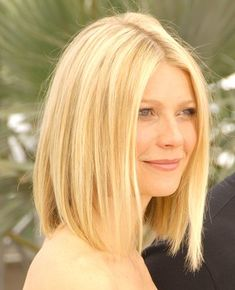 Gwyneth Paltrow- buttery blonde long bob. this is it. the new hairstyle once the red fades!!