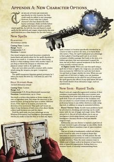 DnD 5e Homebrew — Relic Hunter Rogue by crimsontrojan