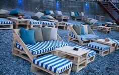 Pallet Outdoor Seating Arrangment #outdoorpallet