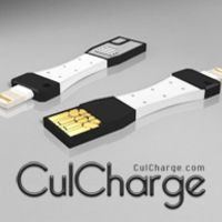 CulCharge: Smallest USB charge and data cable for iPhone and Android