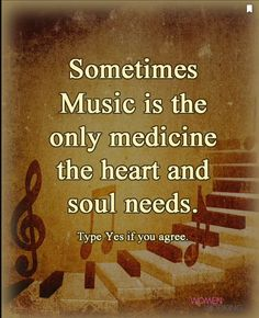 #lovethis #true  #music allows me to continue to thrive