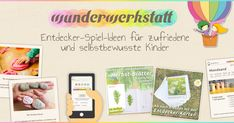 Kleinkind – Wunderwerkstatt Inspire your child with new game ideas from the Wunderwerkstatt Montessori, Fly Repellant, How Many Kids, Kids Room Art, Baby Steps, Sensory Play, Creative Director, Cool Kids, Traveling By Yourself