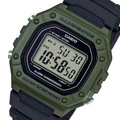 Casio is one of our favorite watch brands for men. We provide you with a huge variety of men's Casio watches ranging from vintage ones to newer models. Here you will find models such as the G-shock, W & others. Buy your first CASIO watch NOW! Casio Digital, Digital Watch, Casio Gold, Elapsed Time, Swiss Army Watches, Casio G Shock, Seiko Watches, Mechanical Watch, Automatic Watch
