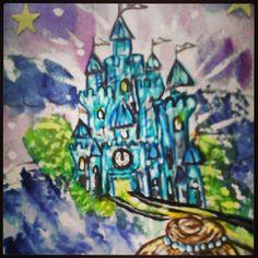 Wip Teaser pic of cinderella's Castle