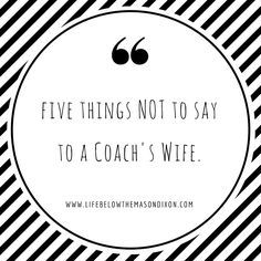 3x10 Football Coach's Wife Poem Digital File (Instant