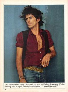 Keef ♡♡♡♡♡♡♡♡ by anii leibovitz. 1981