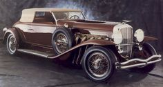 Duesenberg Model J   duesenberg model-j victoria convertible rollston – 1935 ...