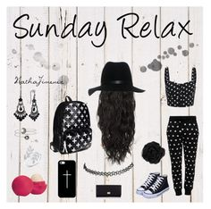 """""""Sunday Relax"""" by nathajimenez on Polyvore featuring moda, Moschino Cheap & Chic, Casetify, rag & bone, Accessorize, Eos, Wet Seal, Dolce&Gabbana y 1928"""