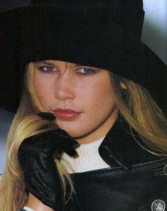 "Elle US September 1988 ""Urban Renewal"" Model: Claudia Schiffer  ph: Marc Hispard"