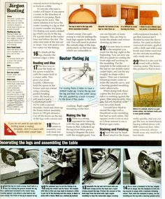 Half Moon Hall Table Plans - Furniture Plans and Projects - Woodwork, Woodworking, Woodworking Plans, Woodworking Projects Woodworking Plans, Woodworking Projects, Using A Router, Table Plans, Furniture Plans, How To Apply, Moon, How To Plan, Chairs