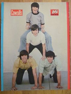 The Cowsills, Full Page Vintage Pinup