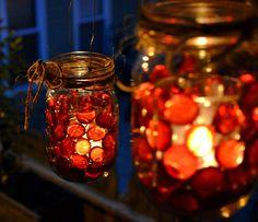 Mason Jar Christmas Centerpiece - 16 Modern Easy DIY Ideas