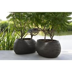 Each pot of Atelier Vierkant is unique and tells a different story. A story made of inspiration and transpiration. Large Plant Pots, Large Plants, Garden Planters, Planter Pots, Pot Jardin, Keramik Vase, Backyard, Patio, Cement Planters