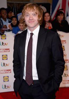Rupert Grint - Pride of Britain Awards: Red Carpet (28 September 2015)