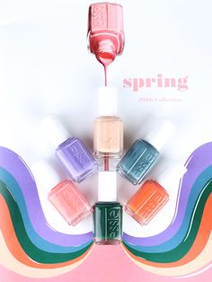 Stylish Spring 2016 Nail Collection: Essie