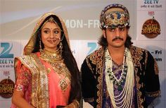 Rajat Tokas and Paridhi Sharma TV Serial Jodha Akbar Star Cast HD Photos