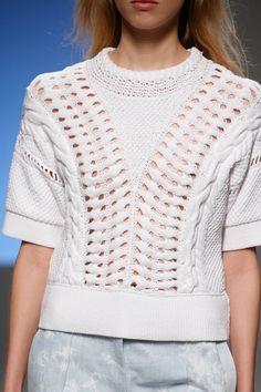 knit work vogue catwalk - Google Search