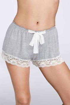 Flora Nikrooz Snuggle Shorts - Grey (Gray), S