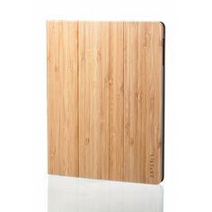 Dřevěný kryt iPad 2/3/4 skládací z bambusového dřeva
