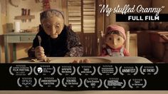 Little Sofía loves her grumpy granny: even though she is always hungry and eats what little food they can buy. Her pension is the only thing keeping her and… Animation Stop Motion, Animation Film, Short Of The Week, Edinburgh International Film Festival, Best Short Films, Small Movie, Film D, Hd Trailers, Always Hungry