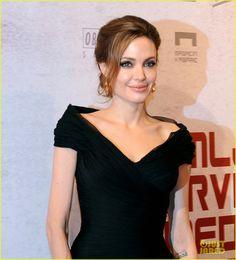 Angelina Jolie Premieres 'Blood & Honey' in Sarajevo | Angelina Jolie, Brad Pitt Photos | Just Jared