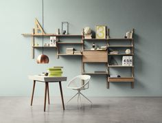 stylish Bolia Stray wall shelves from Kuhl Home (price upon request)