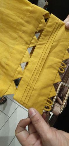 Churidhar Neck Designs, Dress Neck Designs, Stylish Dress Designs, Dress Design Patterns, Kids Dress Patterns, Stylish Dress Book, Stylish Dresses For Girls, Kurti Sleeves Design, Sleeves Designs For Dresses