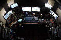 Cool studio, more like spaceship