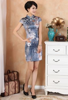 Fashion Chinese women's dress Cheongsam
