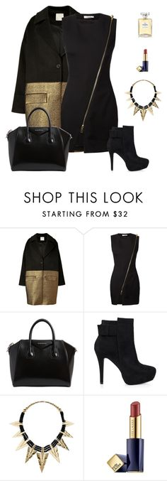 """""""Untitled #832"""" by patrisha175 ❤ liked on Polyvore featuring Hakaan, Bouchra Jarrar, Givenchy, Nly Shoes, Estée Lauder and Chanel"""