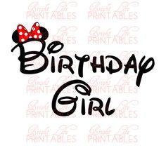 Disney+Iron+On+Transfer++Birthday+Girl++by+BrightLifePrintables,+$4.00