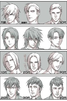 Commander Erwin, Levi, Mike. From Teens to 20s to 30s (Attack on Titan)I DONT KNOW HOW TO FEEL ABOUT THIS!