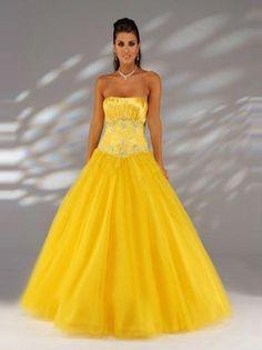 Ball Gown Strapless Rhinestone Sleeveless Floor-length Chiffon Prom Dresses Evening Dresses