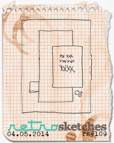 retro sketches : a challenge: retrosketches #109...