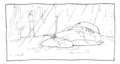 rough scribble for one of the main locations for Echoes, the animated science fiction short film Sci Fi Shorts, Scribble, Short Film, Science Fiction, Behind The Scenes, Character Design, Doodles, Sketches, Tapestry