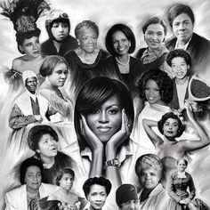 black women with power