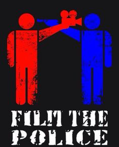 'Film The Police' campaign poster circulated amid the #Ferguson, Missouri riots 2014. Source: Operation Ferguson