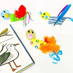 DIY Tweetie Birds - gorgeous tropical birds made from the humble toilet roll! Simple fun and imaginative with a brilliant fine motor skill workout.  Thanks awesome Rossa and boys from @curiouslittlepeople - these birds are so creative & beautiful!  How to: http://ift.tt/2jurwZd  #diy #kidscrafs #kids