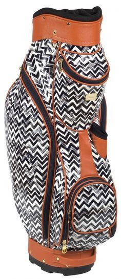 Meet this new classy Cutler Sports Ladies Golf Cart Bag #lorisgolfshoppe