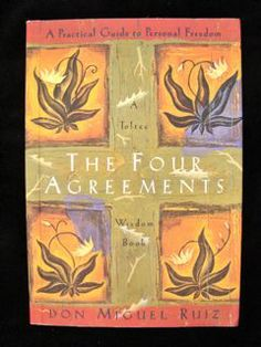 The Four Agreements by Don Miguel Ruiz.  One of the best and most useful books I have ever read!!  Read more here --> http://www.making-healthy-choices.com/the-four-agreements.html
