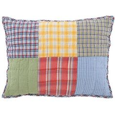 Patchwork pillow. Need I say more?