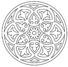 4.gif Mini Mandala, Mandala Art, Pottery Painting, Dot Painting, Mandala Pattern, Mandala Design, Mandala Coloring, Colouring Pages, Stencils Mandala