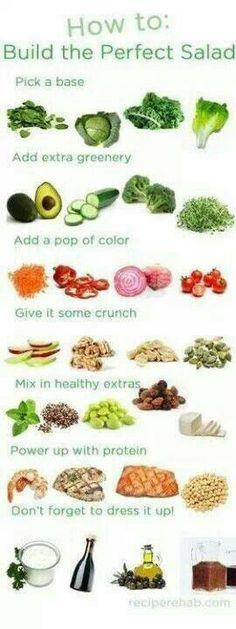 How to build the prefect salad!