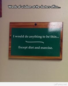 Funny diet sign with quote | Funny Pictures | Funny Quotes | Funny Jokes – Photos, Images, Pics
